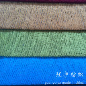 Polyester and Nylon Corduroy Fabric Flower Pattern Embossed for Sofa pictures & photos