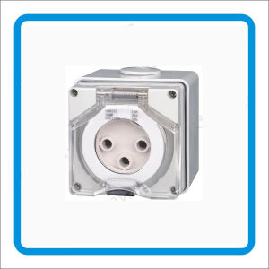 IP66 Australia Industrial Round 56so420 4 Pin 32A Socket pictures & photos
