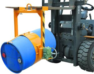 Drum Lifter - Forklift Mounted and Crame Mounted Type pictures & photos