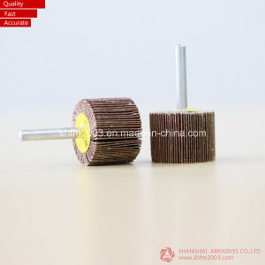 Ceramic, Zirconia, Aluminum Oxide Mounted Flap Wheel (VSM Material) pictures & photos