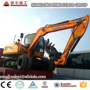 Rhinoceros Wheel Crawler Excavator, Construction Machine Excavator, Excavator Factory pictures & photos