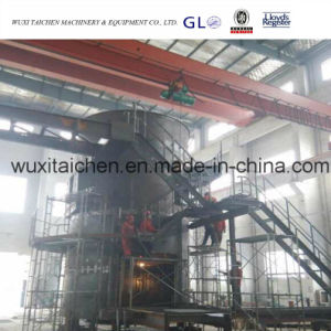 Steel Structure Fabrication Unloading Machine Cylinder with Ladders pictures & photos