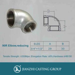 UL/FM/Ce Approved Reducing/Street 90r Elbow Pipeline Fitting pictures & photos