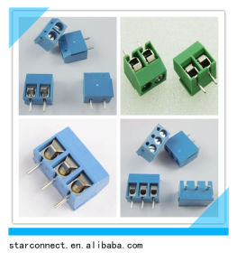 2.54mm 3.5mm Pitch Screw Terminal Block pictures & photos
