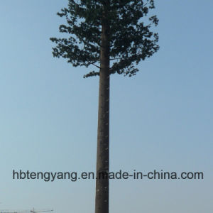 Artificial Camouflaged Pine Tree Steel Tower for Communication pictures & photos