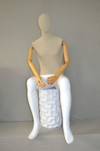 Fabric Cover Male Sitting Mannequin Dummy pictures & photos