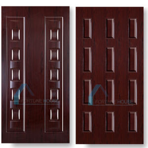 HDF Melamine Door Skin Price From China Factory pictures & photos