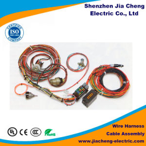Industrial Electrical Wire Harness Equipment Male and Female Cable Assemblies pictures & photos