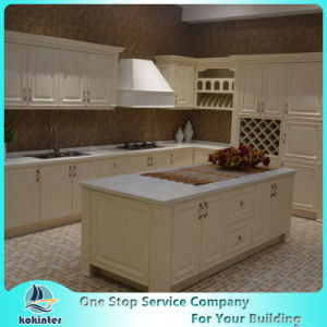 Modern Modular Lacquer and Acrylic Kitchen Cabinet with Island Cabinet pictures & photos