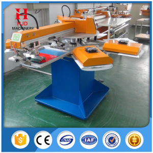 2 Color Automatic Shirt Silk Screen Printing Machine pictures & photos