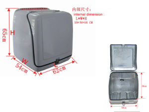 Motorcycle Fiberglass Rear Box With LED Light