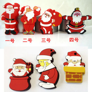 USB Flash Drive USB Stick Wholesale Cartoon Christmas Series Santa Claus Pendrives USB Flash Card USB Flash Disk Memory Stick USB Memory Card Thumb Drive pictures & photos