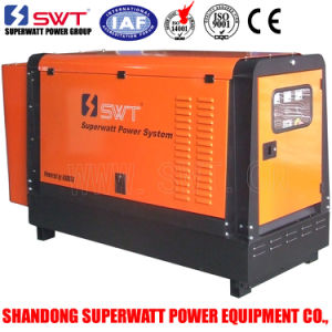 50Hz 8.3kVA-40kVA Silent Type Soundproof Weatherproof Enclosures Diesel Generator Set with CE/ISO Certificaton (Powered by Kubota) pictures & photos