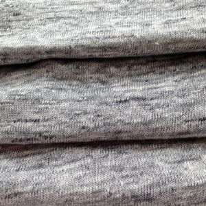 Linen Knitted Heather Grey Fabric (QF14-1546-736) pictures & photos