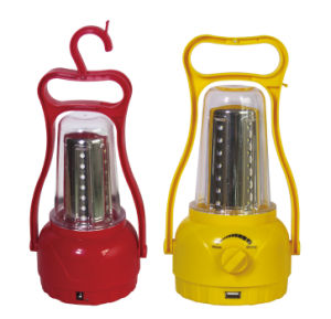 Portable Solar Powered LED Lantern for Outdoor Camping pictures & photos