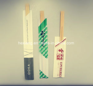 Color Printing Paper Wrapped Disposable Bowl Chopstick pictures & photos