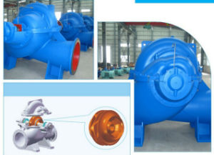 Double Suction Centrifugal Pump, Split Case Pump, High Flow Water Pump, Horizontal Axial Flow Pump pictures & photos