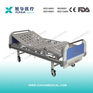 Ce Standard Two Functions Manual Hospital Bed for Ward Room pictures & photos