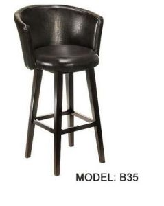 360 Degree Rotation PU Leather for Bar Chair pictures & photos