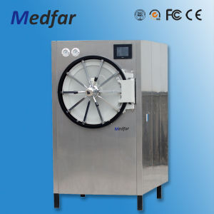 Medfar Horizontal Round Pressure Steam Sterilizer Mfj-Yx600W pictures & photos