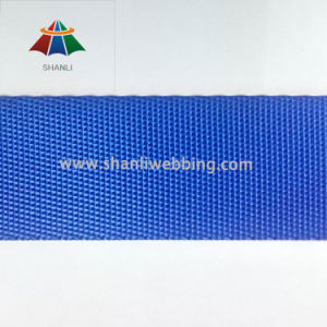 High Quality Imitation Nylon Webbing with Twill Grain, Blue pictures & photos