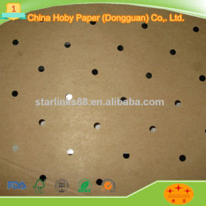 Triangle Holes Perforated Underlayer Kraft Paper for Garment Cam Machine Use pictures & photos
