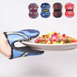 Full Colors Neoprene Kitched Glove, Neoprene Glove pictures & photos