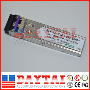1.25g CWDM 1490nm SFP Module with RoHS Compliant pictures & photos