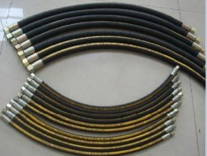 Steel Wire Braided Hydraulic Rubber Hose