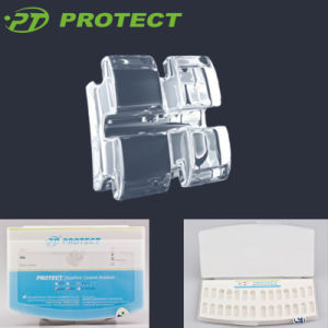 Dental Ceramic Orthodontic Clear Sapphire Bracket