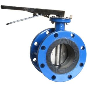 Wafer Flanged Butterfly Valve Lever pictures & photos