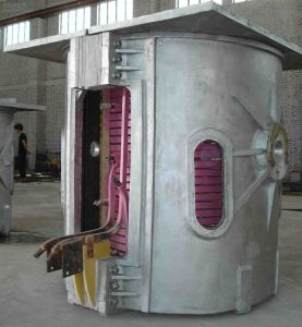 Coreless Medium Frequency Induction Smelting Oven pictures & photos