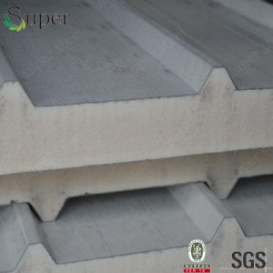 Polyurethane Foam PU Isulated Sandwich Panel for Wall and Roof/Ceiling pictures & photos