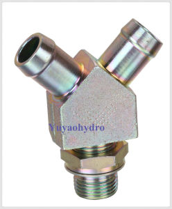 OEM Hydraulic Fittings Y Forged Body Hose Fittings Adapte pictures & photos