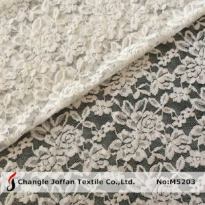 Allover Elastic Lace Fabric for Dresses (M5203) pictures & photos