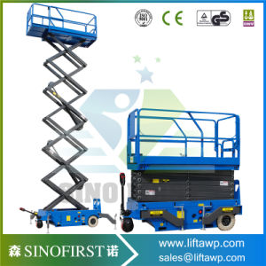 6m Electric Automatic Mobile Aerial Working Platform pictures & photos