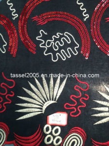 Obama Lace with Sequins pictures & photos