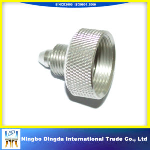 Steel CNC Machining Parts with Knurl pictures & photos