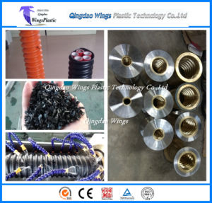 HDPE Corrugated Optic Duct Pipe Extruder Machine / Cop Pipe Extrusion Machine pictures & photos