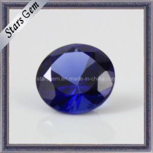 34# Brilliant Cut Loose Blue Sapphire Gemstone pictures & photos