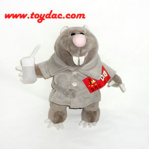 Plush Animation Mole Toy