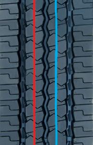 Precured Tread Rubber for Tire Retreading-Pattern H