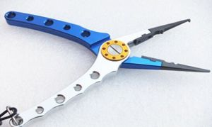 Multi-Function Fishing Pliers for Line Cutting Hook Remove and Lead Regulator with Black Bag