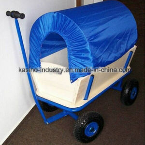 Salable High Quality Baby or Kids Wooden Wagon Cart (tc1801-1) pictures & photos