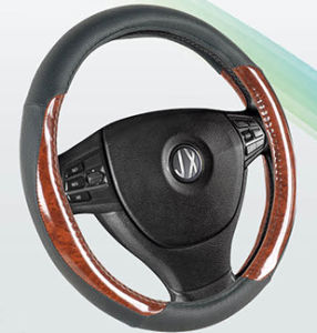 PVC with PU Steering Wheel Cover (BT7312A) pictures & photos