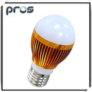 Aluminium 3W LED Globe Light Bulbs pictures & photos