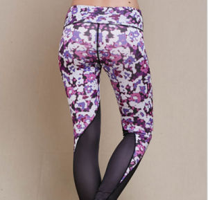 Custom Made Athletic Clothing Cheap Wholesale Gym Leggings Compressed Yoga Pants pictures & photos
