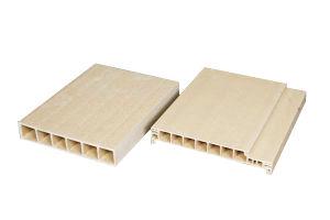 PVC Wood and Plastic Hollow Door Panel Machine (JG) pictures & photos