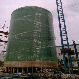 FRP GRP Chemical Tank, Large Diameter Pressure Tank pictures & photos