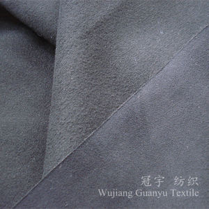 Short Pile Polyester Suede Microfiber Fabric for Sofa Covers pictures & photos
